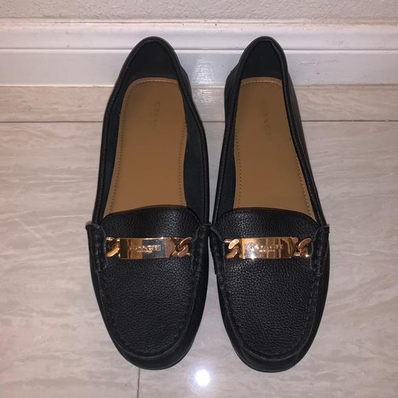 Coach Shoes   Nwot Black Rose Gold